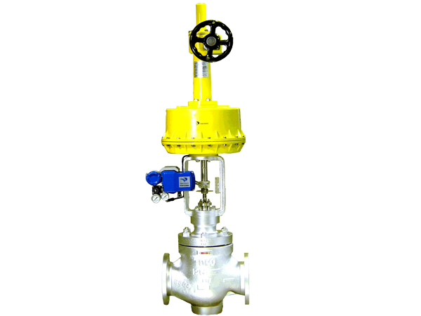 <br/>Double seated cage valve